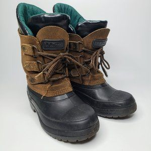 L.L. Bean Kid's Insulated Winter Snow Boots 6
